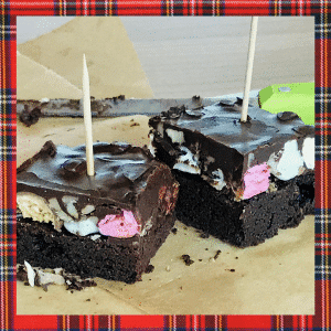 Rocky road brownie The Daily Pie Post